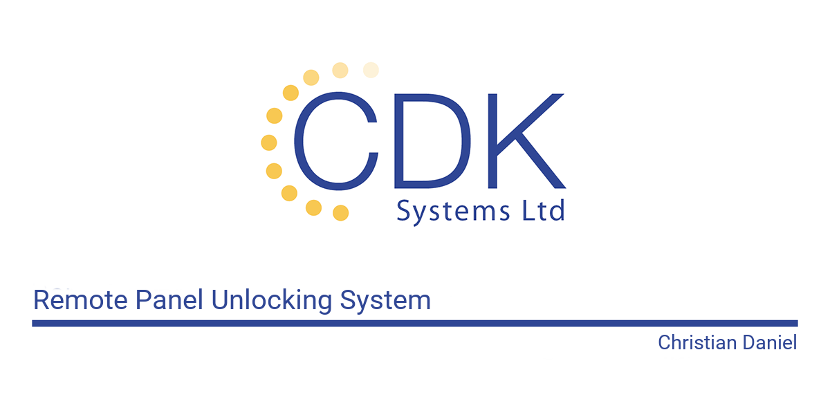 CDK%20 %20Remote%20Panel%20Unlock%20Front